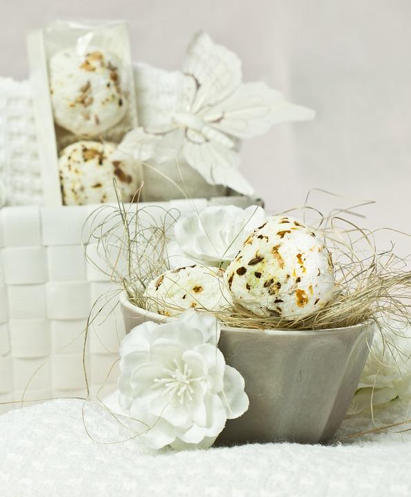 石鹸と白い花