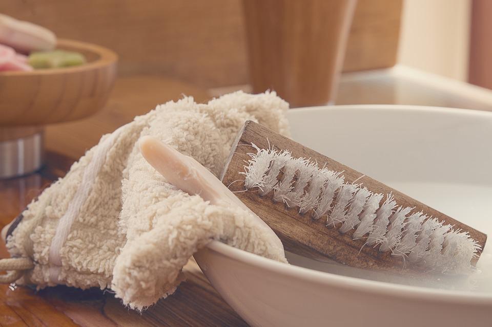 洗面器石鹸