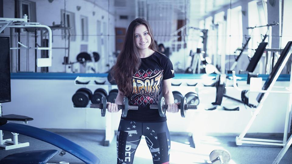 トレーニング女子