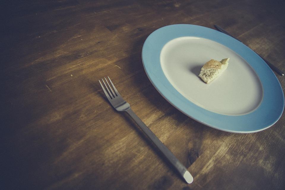 フォークとお皿