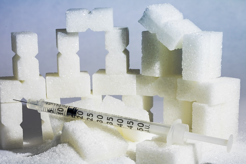 砂糖と注射器