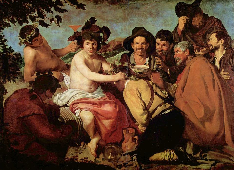 バッカスの勝利 絵画 酒